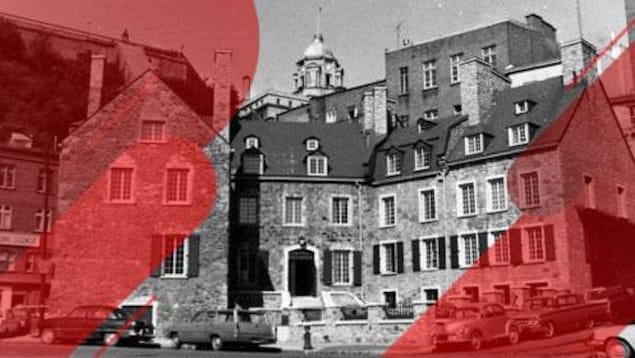 La maison Chevalier en 1960