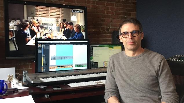 Le compositeur dans son atelier
