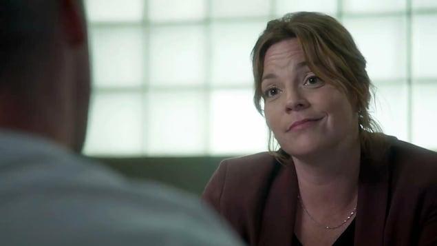 Florence Guindon en interrogatoire.