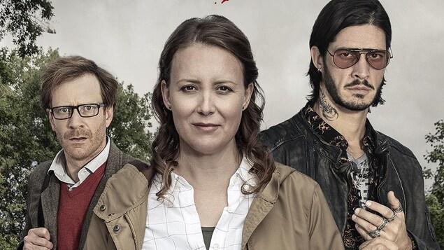 portrait du trio.