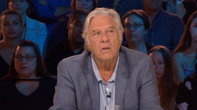 Pierre Curzi, émotif, aux Enfants de la télé.