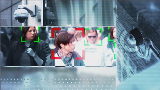 La reconnaissance faciale permet d'identifier un individu en filmant son visage