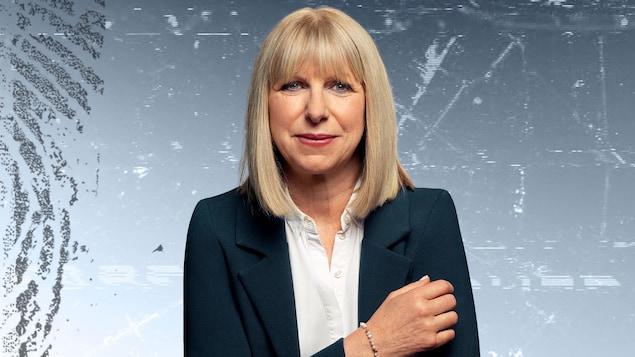 L'animatrice et journaliste Isabelle Richer