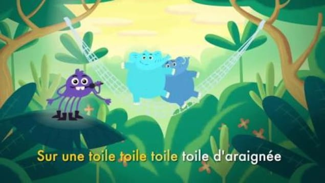 Ils chantent dans a forêt