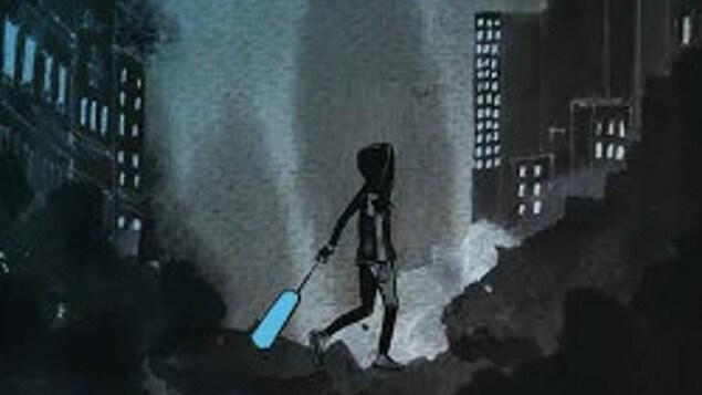 Photo de la couverture du livre : une ville en ruines