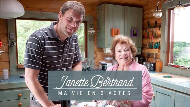 Janette Bertrand - Ma vie en 3 actes