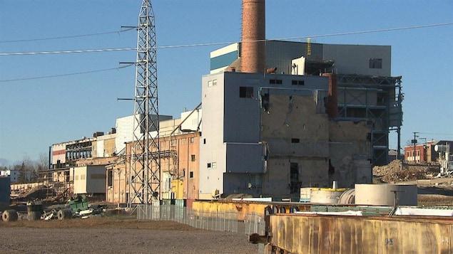 Ancienne usine Gaspésia, à Chandler