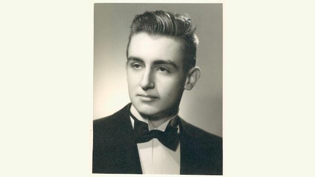 Lucien Bouchard dans la vingtaine