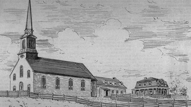Église de Sainte-Pétronille, Île d'Orléans, 1894