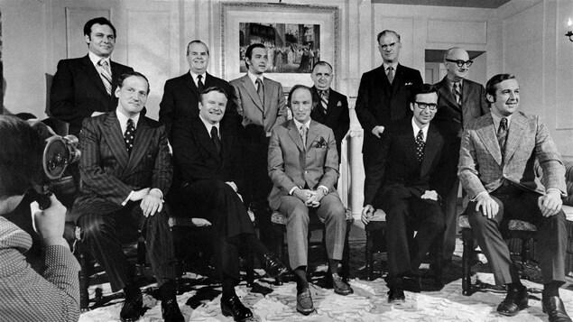 Les premiers ministres provinciaux et Pierre Elliott Trudeau en 1971