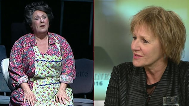 Lorraine Pintal se souvient de Rita Lafontaine.