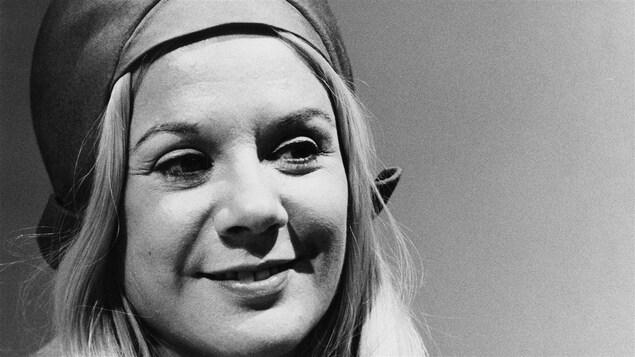 Denise Filiatrault lors d'<i>Un show qui m'tente avec du monde que j'aime</i> le 9 avril 1974