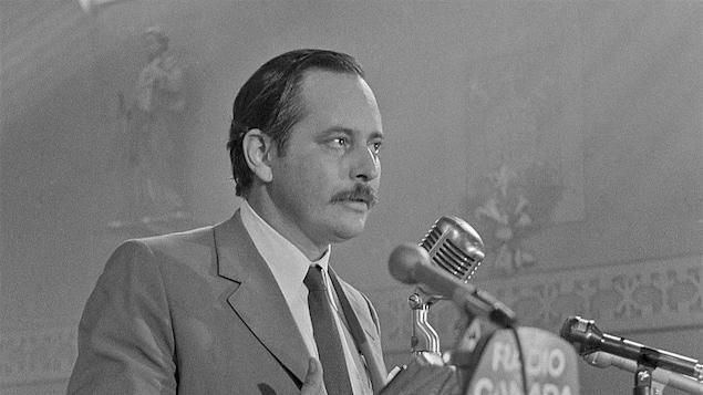Jacques Parizeau en août 1971