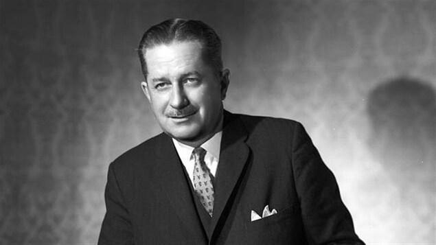 Daniel Johnson a été premier ministre du Québec de 1966 à 1968. Photo prise en 1963.