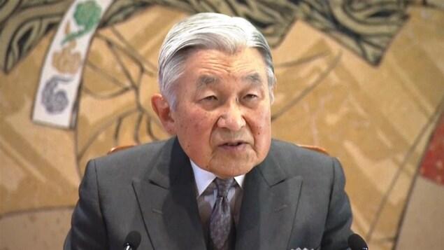 L'empereur du Japon Akihito.