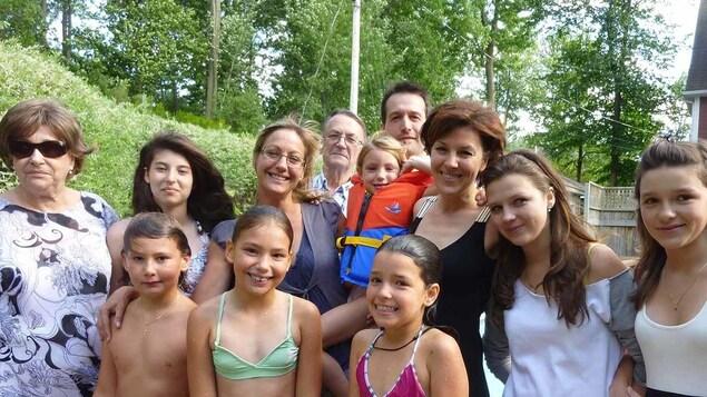 La famille Chassé-Brazeau