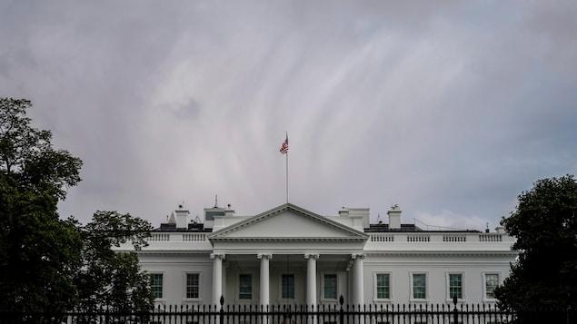 Façade de la Maison-Blanche.