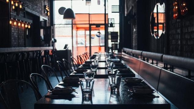 Restaurant vide.