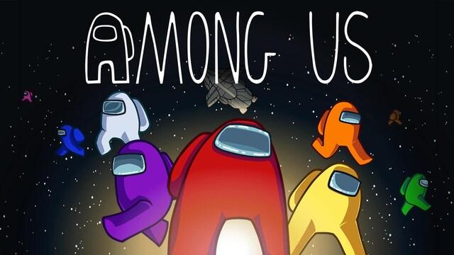 Image officielle du jeu Among US.