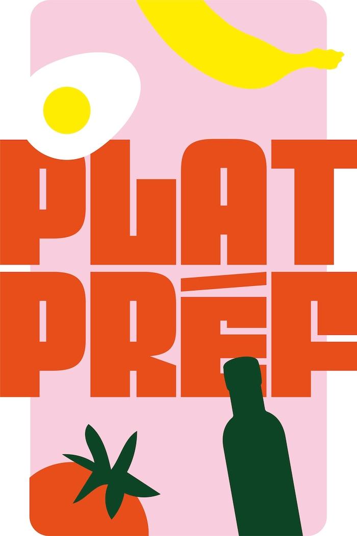 Le logo de la websérie Plat Préf.