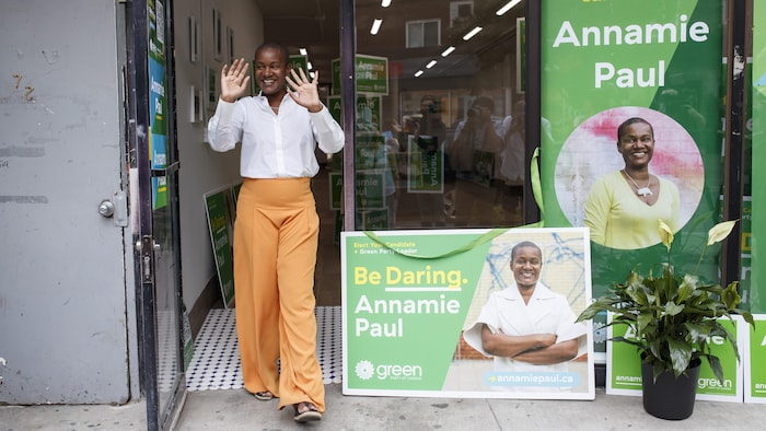 绿党领袖安娜米·保罗 (Annamie Paul )