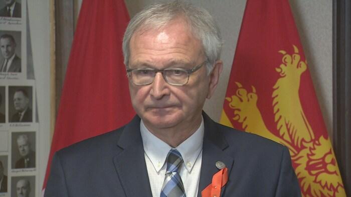 بلين هيغز رئيس حكومة نيو برنزويك.