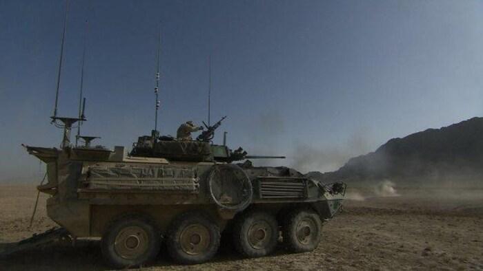 加拿大军队在 2001 -2014 驻扎在阿富汗。