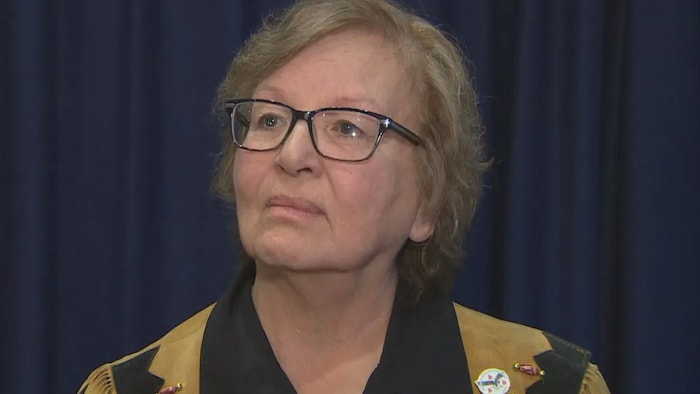 Carolyn King, an elder and ambassador of the Mississaugas of the New Credit First Nation, says preserving the tree is a way to recognize that the Toronto area was the First Nation's home base for thousands of years.