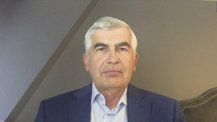 Clément Gignac, vice-président principal et économiste principal d'iA Groupe financier, lors d'une entrevue par Internet.