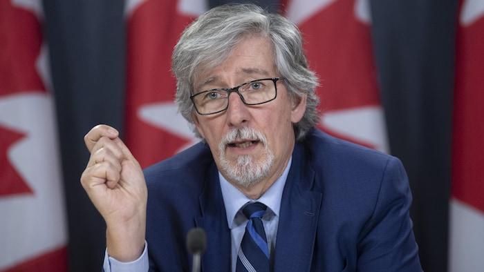 El comisionado federal para la protección de la vida privada, Daniel Therrien.