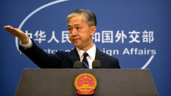When asked about the case during a daily briefing in Beijing, Wang Wenbin, a spokesperson for China's Ministry of Foreign Affairs, said: 'China and Canada have some scientific co-operation, which is quite normal and should not be politicized.'