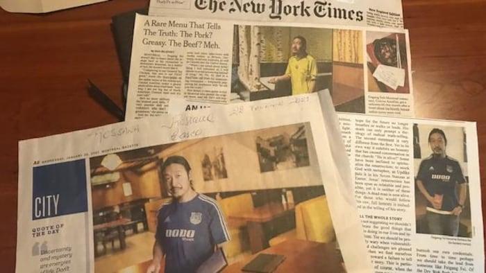 包括《纽约时报》、《南德意志报》、CBC、Sky TV 等著名媒体采访过费老板。