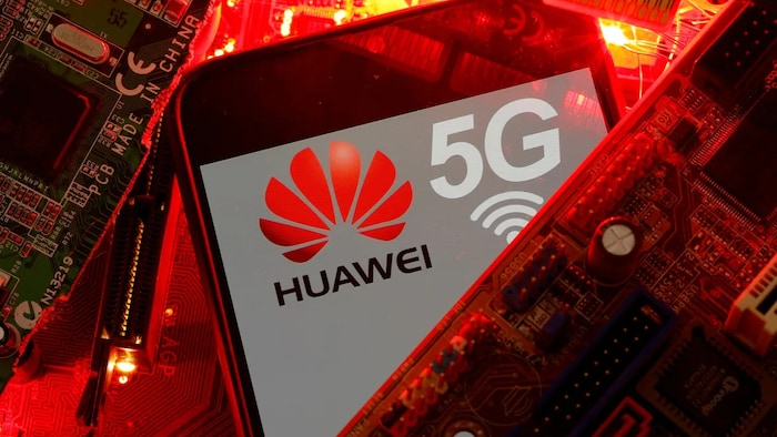 Huawei phone. The U.S. wants allies to keep Huawei products out of any eventual 5G network. Canada hasn't announced a policy.