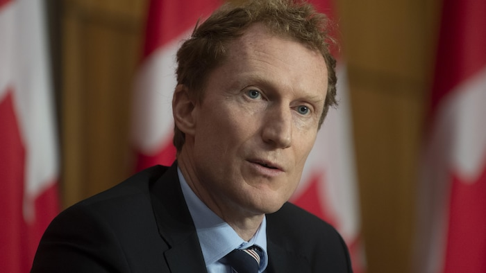 El ministro federal de Servicios Indígenas, Marc Miller.