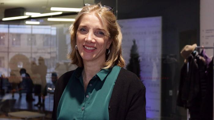 Marina Boulos-Winton, directrice générale du refuge de jour pour femmes en difficulté Chez Doris, un organisme montréalais.