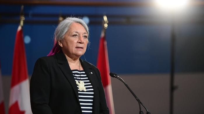 2021 年 7 月 6 日,因纽特人领袖玛丽·西蒙 (Mary Simon)被任命为加拿大第 30 任总督。