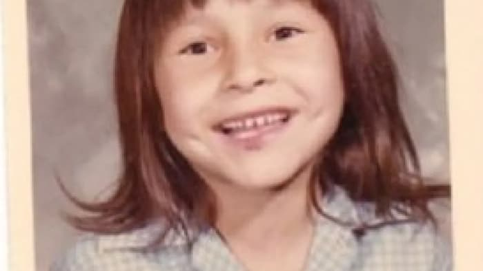 Phyllis Webstad was six years old in 1973 when she was put in a residential school in British Columbia and stripped of her brand new orange shirt.