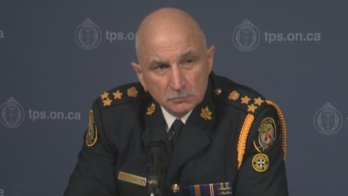 El jefe de la policía de Toronto, James Ramer.