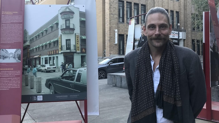 积极参与拯救唐人街的让-飞利浦·里欧佩尔(Jean-Philippe Riopel)。