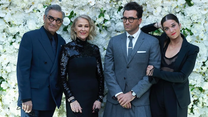 Schitt's Creek, which swept last year's Emmys comedy categories, will be represented with stars Eugene Levy, Catherine O'Hara, Dan Levy and Annie Murphy at this year's show.