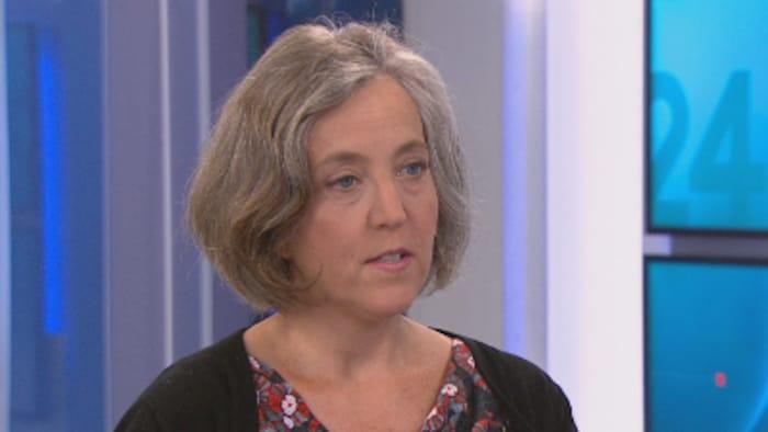 Stéphanie Valois, abogada canadiense especializada en derecho de los refugiados.