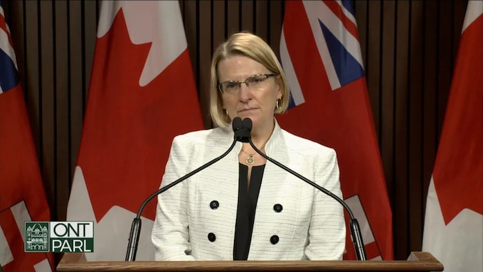 ntario Attorney General Sylvia Jones wouldn't comment Thursday on whether or not Ontario could follow suit on Alberta's move to significantly ease its COVID-19 restrictions.