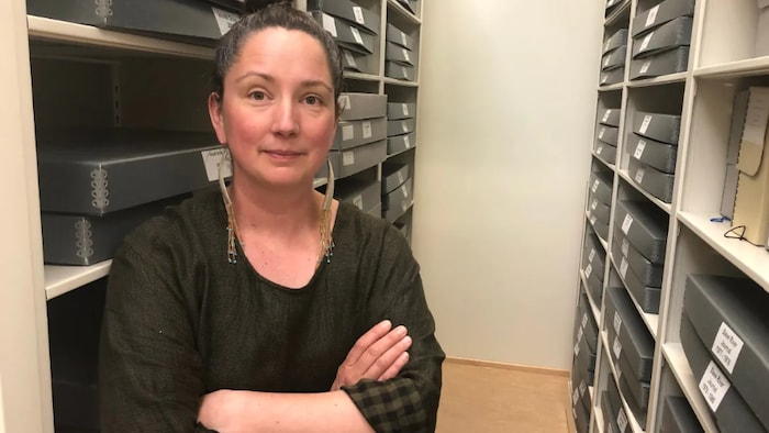 Erin Suliak, the N.W.T.'s territorial archivist, said it's taken 'months and months and months' of planning to bring the original Treaty 11 document to the North, and even yet, not all the details have been figured out.
