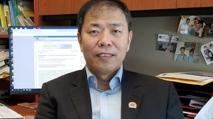 加拿大多倫多大學公共健康學、紀念大學傳染病學王培忠教授。(本人提供)