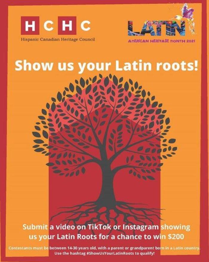 Bannière promotionnelle qui annonce l'événement TikTok. On y voit un dessin d'arbre superposé sur la silhouette d'une maison.