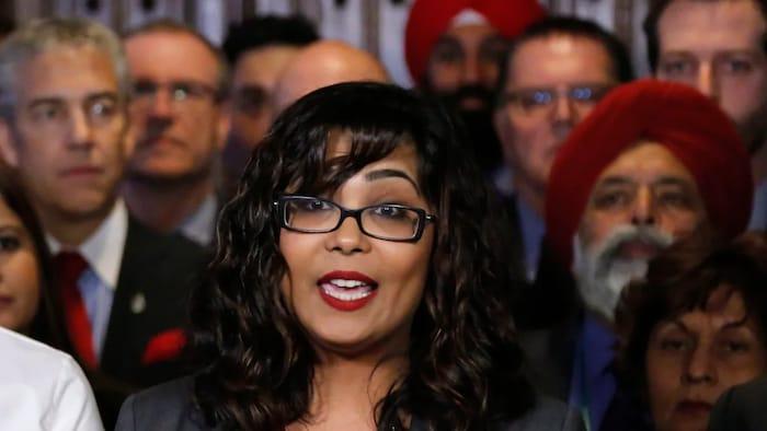联邦自由党议员艾酷拉·卡里德( Iqra Khalid)