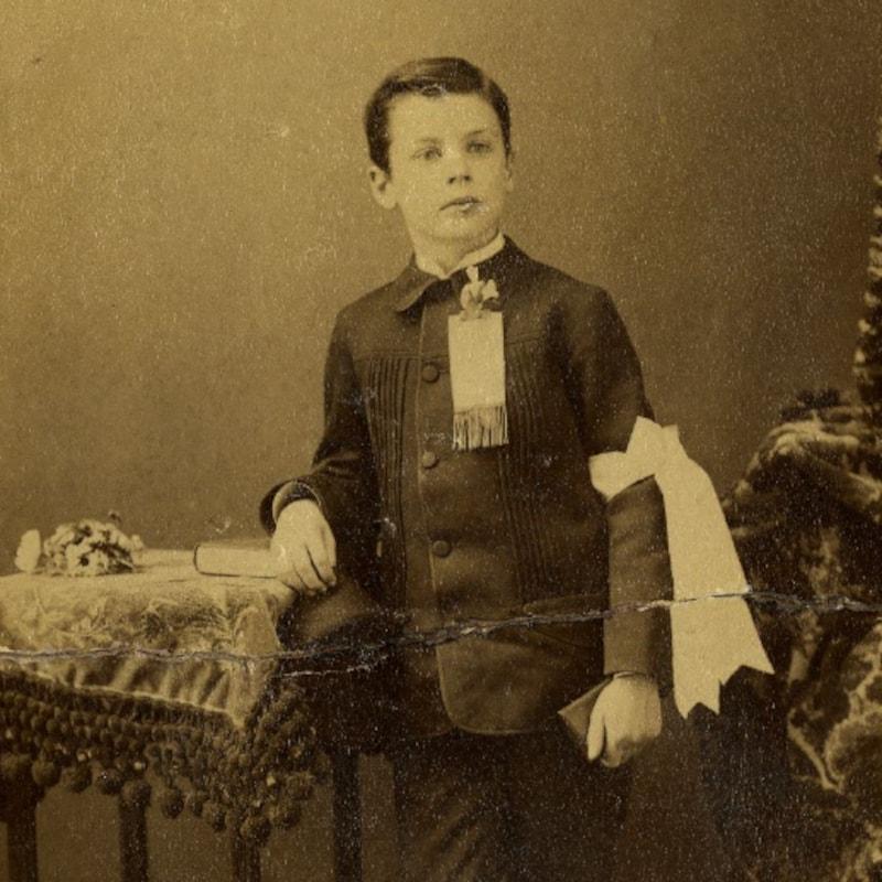 Émile Nelligan enfant.