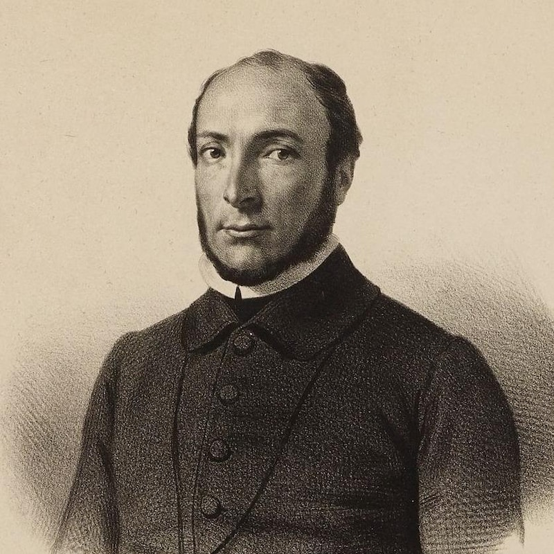 Victor Schœlcher, ancien sous-secrétaire d'État aux colonies de France.