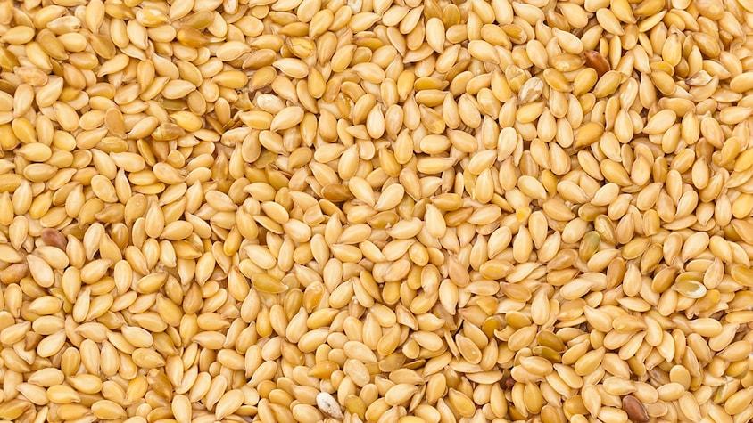 Un bol rempli de graines de sésame.