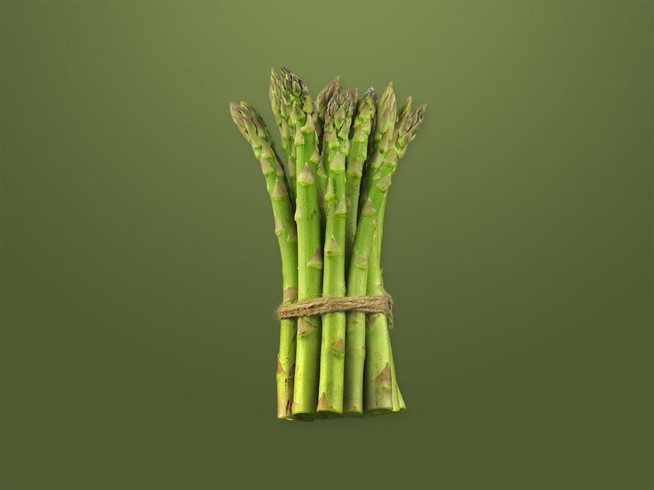 Un bouquet d'asperges.